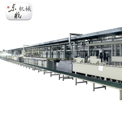 Brass plating production line